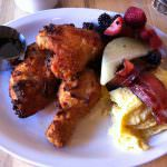 Fried Chicken at The Pinyon