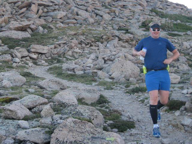 Andrew Hyde Descending Long's Peak