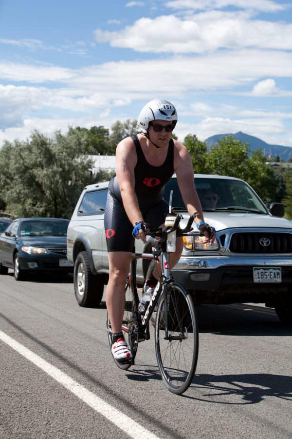 Ironman Boulder 2010 Bike Finish