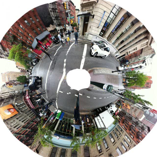 Spring Street NYC Panorama