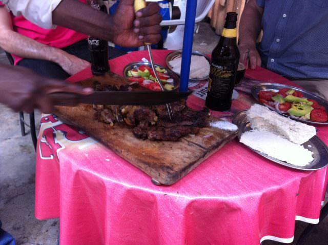 Beef Lunch in Kenya