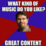 matt cutts great content meme