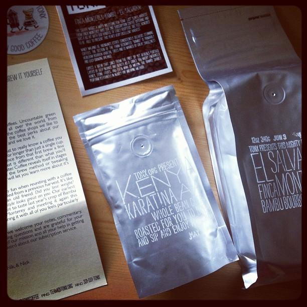 tonx subscriptioncoffee
