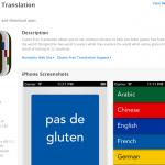 Gluten Free Translation