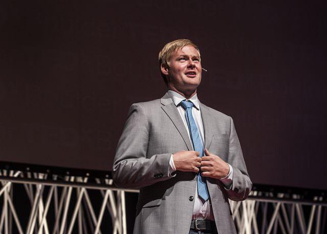 Andrew Hyde hosting TEDxBoulder 2014