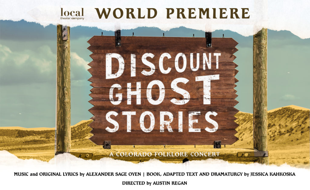 Discount Ghost Stories Musical Boulder